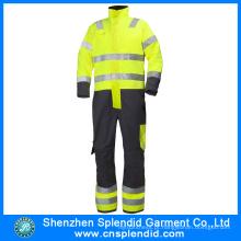 Vestuário de segurança personalizado Hi Vis Winter Nomex Fire Retardant Coverall