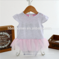 New arrival infant baby girl romper one piece new born romper girls jumpsuit with 100% cotton