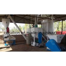 Alimentação da pelota da galinha das aves domésticas 1000kg / H que faz a linha da máquina