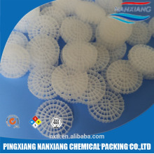 MBBR bio filter media made in China manufacture PE06 15*15MM