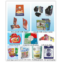 Plastic De-Metallised Food Packaging, Food Bag