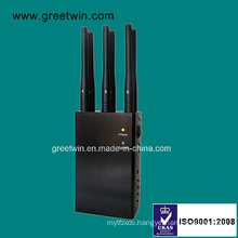 6 Channels Portable Signal Jammer Cell Phone GPS WiFi Jammer (GW-JN6)