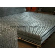 Maillage métallique au diamant, maillage métallique à électrovannes soudé, maillage métallique expansé pour la construction