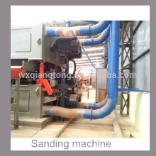 4 feet double side heavy duty sanding machine for MDF/particle board/ HPL