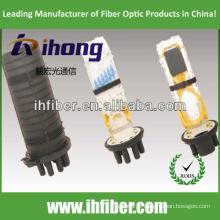 3 In - 3 Out Vertical / Dome Fiber Optical Splice Fermeture imperméable à l'eau