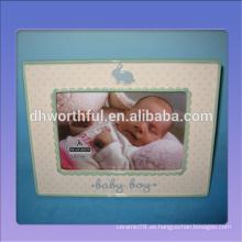 2016 nuevo marco de cerámica del bebé del estilo, marcos de cerámica para el bebé