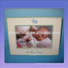 2016 new style ceramic baby frame,ceramic picture frames for baby