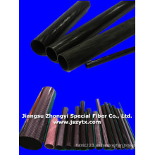 Tubo de fibra de carbono de alta calidad para la industria