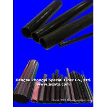 Tuyau en fibre de carbone de haute qualité pour l'industrie