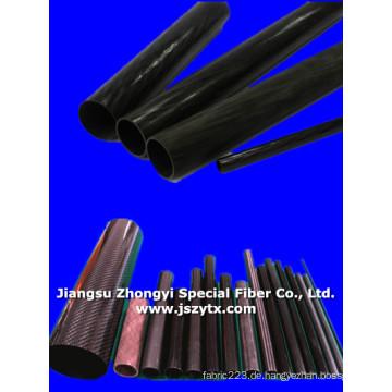 Qualitativ hochwertige Kohlefaser-Rohr für die Industrie