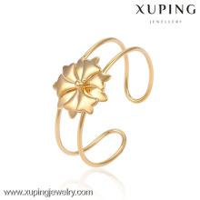 Bracelete da forma da jóia de 51342 Xuping com o ouro 18K chapeado