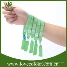 Nouveau design VIP tissu personnalisé poignets personnalisés