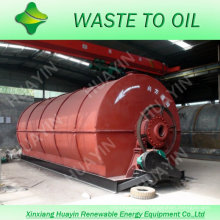 highly profitable waste tire recycling machine