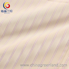 100%Cotton Yarn Dyed Stripe Fabric with Mercerized Finishing