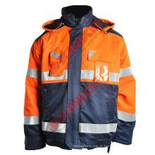 vestes d'hiver uniformes de vêtements de travail