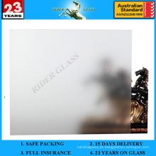 Vidro Emulsificado Limpo de 3-12mm com AS / NZS2208: 1996