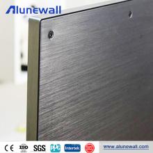 Painel composto de alumínio colorido WaterproofTV Backboard