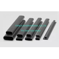 Welded Carbon Steel Flat Sided Elliptical Oval Tube