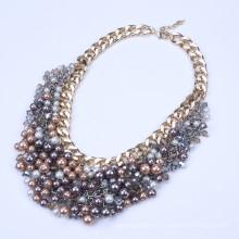 Collier à bulle de perles de perles