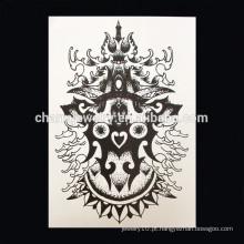 OEM Venda por atacado Coroa imperial tatuagem parte do braço tatuagem grande braço tatuagem W-1008