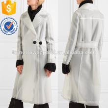 Ropa de goma revestida de la PU de la fabricación de la capa de la PU Ropa de las mujeres de la moda al por mayor (TA3018C)