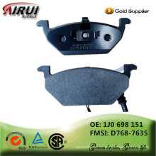 No-asbesto, calidad de OE, ventas calientes de piezas de automóviles fabricante chino (OE NO .: 1J0 698 151 / D768-7635)