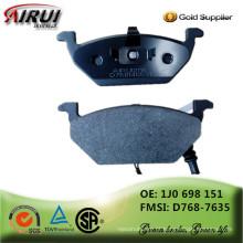 Não amianto, qualidade OE, peças de automóvel de vendas quente fabricante chinês (OE NO .: 1J0 698 151 / D768-7635)