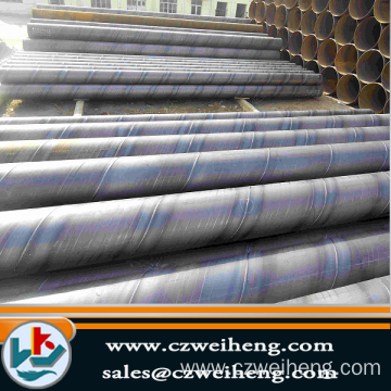 Q345/Q235 SSAW large diameter spiral steel pipe on sale