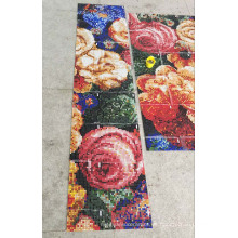 Mosaico de pared de mosaico de diseño (HMP871)