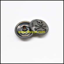 Snap Button with Skull logo