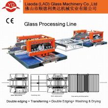 Обработка горизонтального стекла двойной кромки машина Производитель стекла