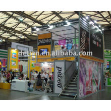 two storey exhibition booth,trade booth,exhibition hall