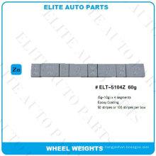Pesos de equilibrio de rueda para rueda de coche (ELT-5104Z)