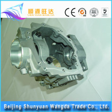 Aluminum casting Truck transmission parts Gearbox rear housing of auto spare part