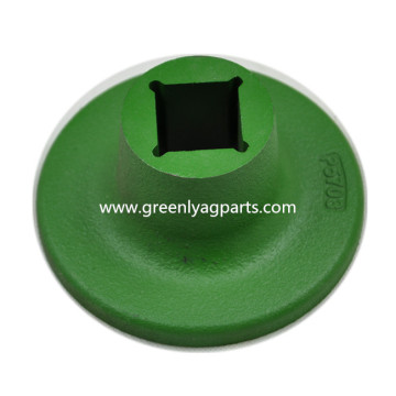 06-057-003 KMC / Kelly Disc Convex green Spool
