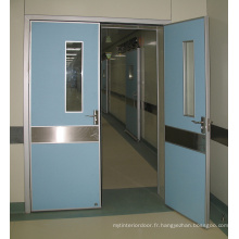 Porte hermétique doublée de plomb hôpital
