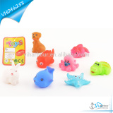 Safe Baby Bath Toy Soft Rubber Sea Animal