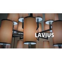 Lampes suspendues de lustre en cristal de verre de cuisine de salle à manger