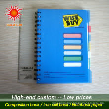 Wholesale Cheap Custom Design Korean Japanese Notebook
