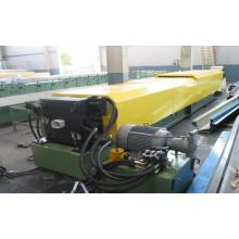 Lembar Baja Berwarna Square Downspout Roll Forming Machine