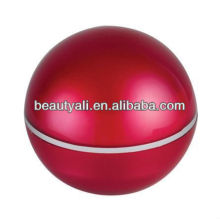 Ball acrylic cosmetic packaging jar