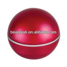 Bola acrílico embalagens cosméticos jar