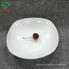 New products of Low bone china white plates for restaurant