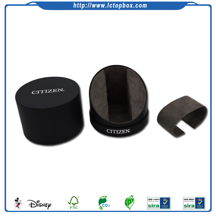 Luxury Cylinder Cardboard Watch Packaging Box