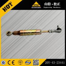 Komatsu ersatzteile PC200-7 bagger kraftstoffsteuerfeder 20Y-43-23441