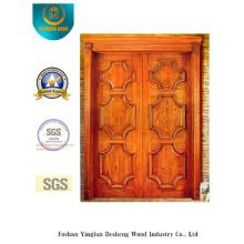 Porta dupla estilo clássico para exterior (s-1020)
