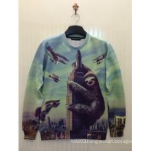 Bear & Sky Pullover Printed T Shirt 3D Printing