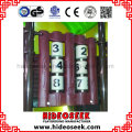 Ce Certificated Kid Used Outdoor Playground Equipment for Sale