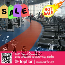Gym Court PVC flooring for fitness equipment Sports Flooring Surface