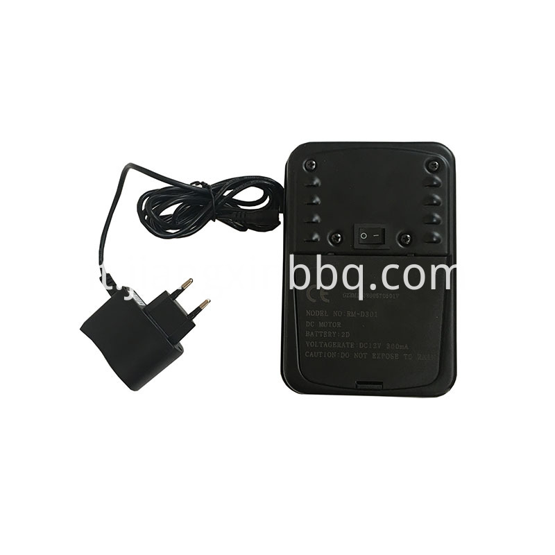 240v Ac Adapter With Black Dural Motor